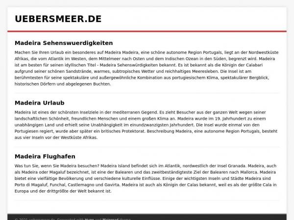 uebersmeer.de