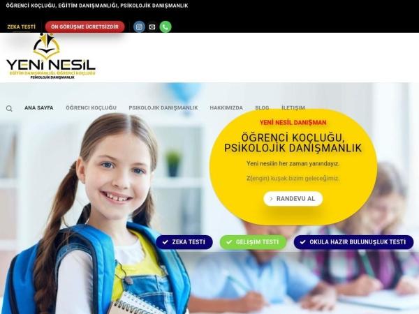 yeninesildanisman.com